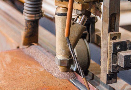 Tractor de soldadura por arco sumergido